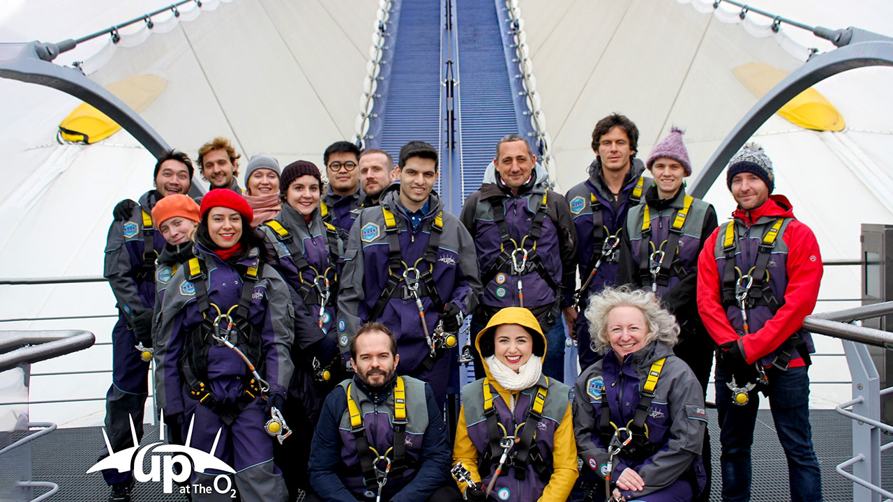 Climbing The O2 Millenium Dome