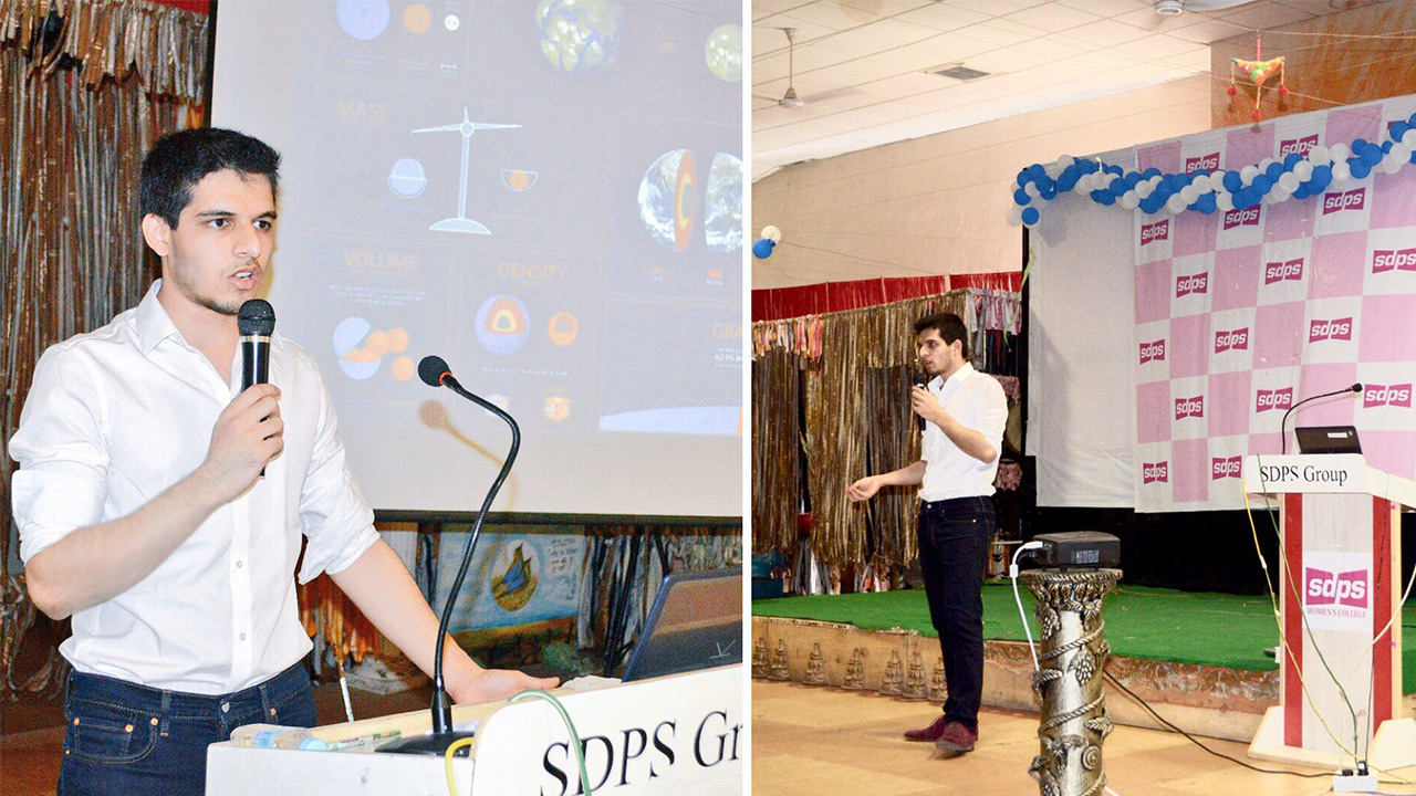 Lecture at SDPS